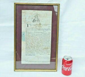 1710 Queen Anne Official Westminster Court Common Pleas MATHIEU PAROISSIEN Rare