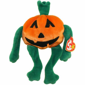 TY Beanie Baby - PUMKIN' the Pumpkin (4 inch) - MWMTs Stuffed Animal Toy