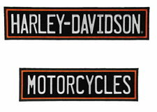 3XL Harley Davidson Straight Rockers Vest Jacket Back Patch 12 Inch Discontinued