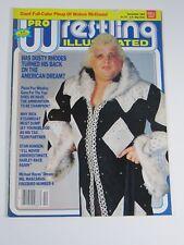 Pro Wrestling Illustrated Magazine December 1983 Wahoo McDaniel Poster