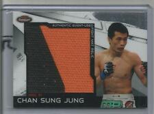 2011 Topps Finest UFC Chan Sung Jung Jumbo Fight Mat Relic Card # MR-CSJ