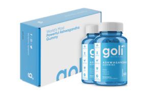 2-PACK Goli Ashwagandha Ashwa Gummies + Vitamin D2 Keep Calm Relax De-Stress