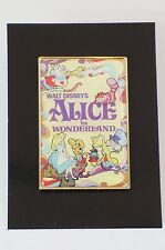 Disney JAPAN Pin UNIQLO Collaboration Limited Art Poster Alice in Wonderland