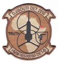 USMC Marine patch:  Marine Medium Helicopter Squadron 165, Det. 8, Djibouti 2010