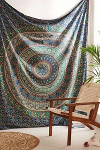 Bohemian mandala wall hanging hippie tapestry boho bedding large wall decor art