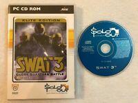 SWAT 3: Close Quarters Battle - Elite Edition - Windows PC - CD-ROM - Sierra