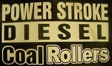 Power Stroke Diesel Coal Rollers  Decal