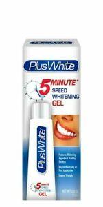 Plus White 5 Minute Speed Teeth Whitening Gel 56G