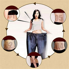 30pcs/box navel stick slim patch slimming lose weight cellulite.