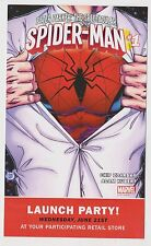 2017 Spectacular Spider-Man Launch Party Promotional Card Zdarsky Kubert Marvel