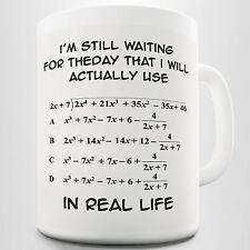 I'm Still Waiting Algebra Maths Teacher Office Home Funny Coffee Cup Mug