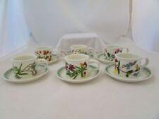 Botanic Garden 1960-1979 Portmeirion Pottery Cups & Saucers
