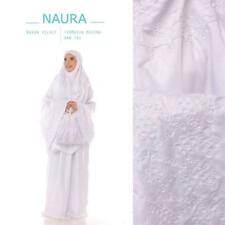 Women Prayer Salah Clothes Mukena Khimar Long Hijab Set Skirt & Hand Bag - NAURA