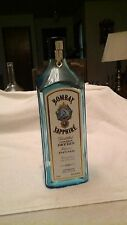 Blue Bombay Sapphire Gin Bottle, 1.75L (empty) with original cap