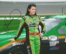 2014 Danica Patrick ASPEN DENTAL GODADDY.COM RACING NASCAR Signed 8x10 Photo #7