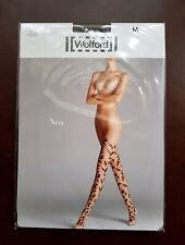 New Wolford Tights Noa Size M Black/Black