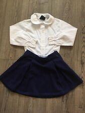 Girls School Uniform 2 Piece Set Outfit Lot Size 5 French Toast ~ Gymboree