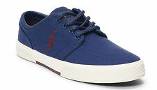 Polo Ralph Lauren Men's FAXON CANVAS LOW SNEAKER New 100% AUTHENTIC
