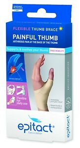 Epitact - Flexible Day Thumb Brace -  Supports and Soothes Painful Thumbs