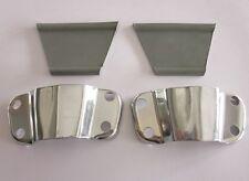 Lambretta Series 1 2 & 3 Headset Mirror Stem Flyscreen Brackets with Rubbers x1