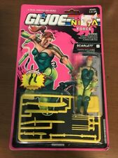 1993 GI Joe SCARLETT (V2) Ninja Force - MOC - New! Factory Sealed!