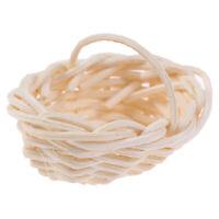 1:12 Mini Cute Dollhouse Accessories Miniature Bamboo Basket Decorati_JCAU JR