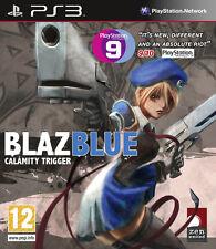 BLAZBLUE CALAMITY TRIGGER GIOCO PS3 NUOVO ITALIANO PS3