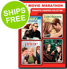 4-Movies Romantic Comedies: Larry Crowne, Prime, Love Happens, Because I Said So