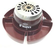 Nostalgia Electric S'mores Maker With Food Tray And 3 Roasting Forks