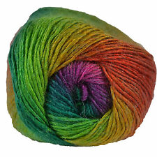 King Cole Riot DK 100g Acrylic Wool Blend Multi Coloured Knitting Yarn Caribbean 1951