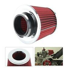 New Universal Car Air Filter Induction Kit Sports Car Cone Chrome Finish