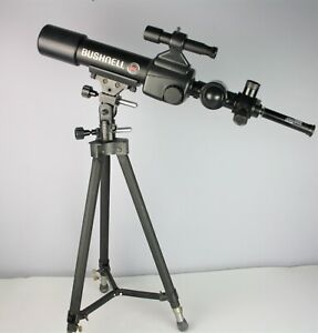 BUSHNELL 455 ROTARY POWER TELESCOPE WITH TRIPOD