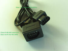 1 Classic 8-bit Nintendo Nes System Console Controller Extension Cable 6FT Cord