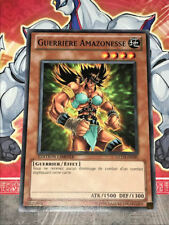 Carte YU GI OH GUERRIERE AMAZONESSE GLD3-FR005 x 3