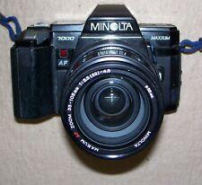 Minolta Maxxum 7000 AF Zoom 35-105mm f/3.5(22)-4.5 Lens, Minor Issues In Casings