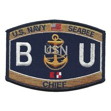 Construction Rating Builder Patch BU Seabee