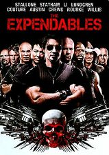 NEW DVD // The Expendables //Sylvester Stallone, Jason Statham, Mickey Rourke, T