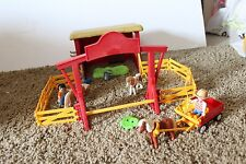 PLAYMOBIL Pony Farm #5937 not complete horse carriage fence figures