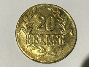 20 Heller Deutsch Ostafrika 1916 T J.724b #223#