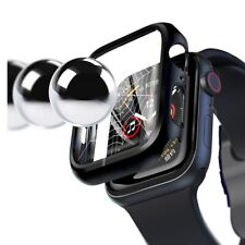 Apple Watch Series 38mm 40mm 42mm 44mm Full Body Case 3D Tempered Glass Protect