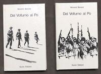 WWII - G. Bonomi - Dal volturno al Po - 2 volumi - 1^ ed. 1974