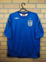 England XL soccer jersey 2006 2008 third shirt football Umbro