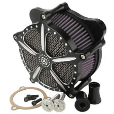 Black CNC Air Cleaner Fit For Harley Ultra Electra Street Glide Road Glide 08-16