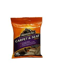 Armorall Carpet And Seat Wipes Great For Ground In Dirt Pack Of 15