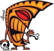 Tiki Bone Sticker Decal Chico Von Spoon CVS10
