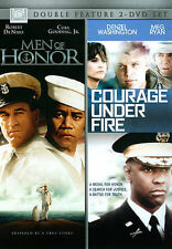 *BRAND NEW* MEN OF HONOR/COURAGE UNDER FIRE DOUBLE FEATURE (DVD, 2014)
