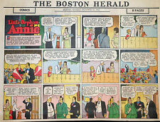 Little Orphan Annie by Gray - large half-page color Sunday comic - Oct. 10, 1943