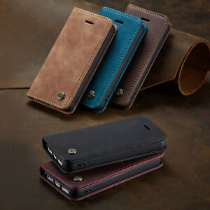 Case for iPhone 5 5s SE 6 6s Plus Leather Flip Card Wallet Stand Phone Cover S