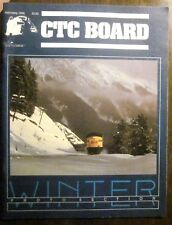 CTC Board Railroads Illustrated #163 February 1990 (Very Good) Winter