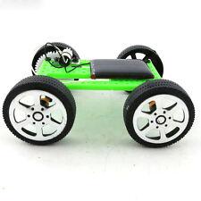 Mini Solar Powered Motor Toy DIY Kit Car Gadget Hobby Robot For Kids Educational